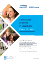 PDEFE Course Brochure front page preview