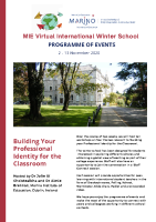 Winter School Programme front page preview