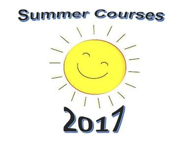summer courses 2017